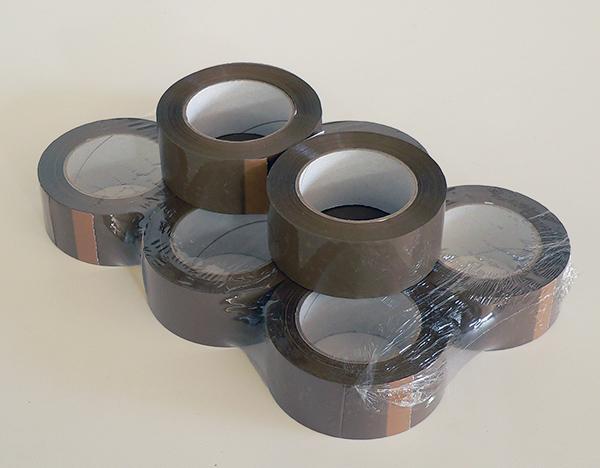 Nastro adesivo scotch avana per imballaggi 132mx50mm