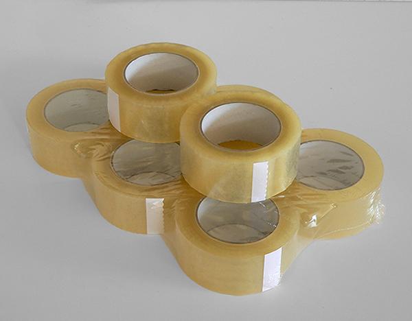 Nastro adesivo scotch trasparente per imballo 132mx50mm
