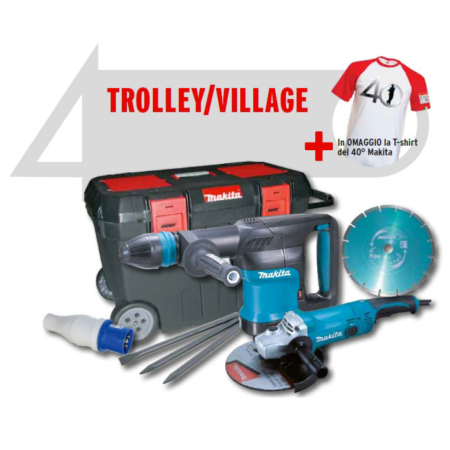 Trolley Village Makita Tre Effe Service