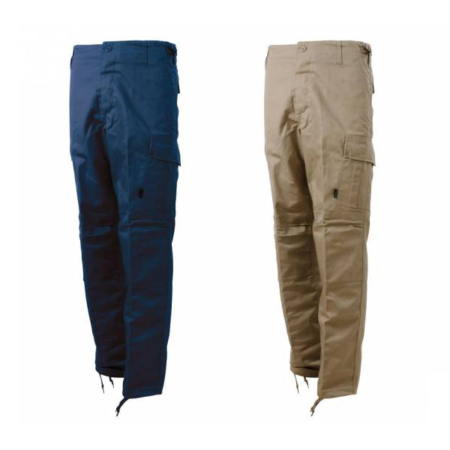 blue tech pantalone multitasche